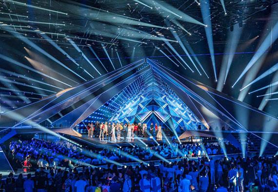 Технологии будущего на конкурсе Евровидение
